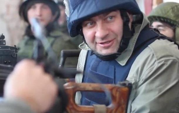 Пореченкову вручили хрест  Доброволець Донбасу