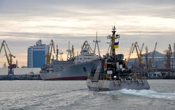 ВМС України готові відкрити вогонь у разі провокацій