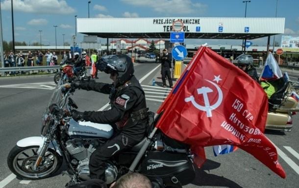 Польша снова не пропустила  Ночных волков  на Берлин