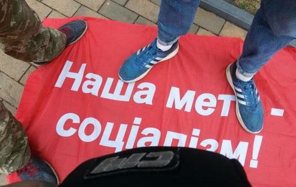 На Першотравень у Вінниці сталася бійка через прапори