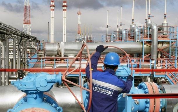 Газпром з початку року збільшив експорт газу в Європу на 15%