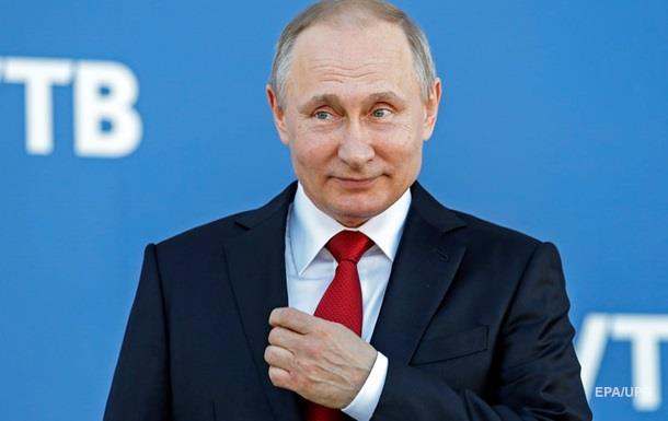 Путін заборонив цифри і титули в іменах росіян