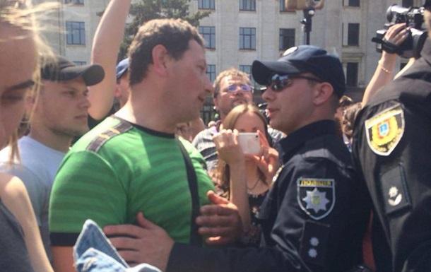 На акции в Одессе задержали 14 человек