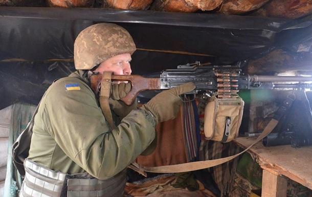 На Донбасі загинув боєць, семеро поранені - штаб
