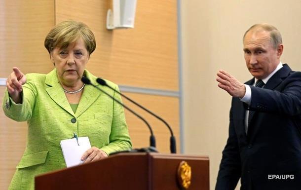 Преса про Меркель у Путіна: Протиріччя посилилися