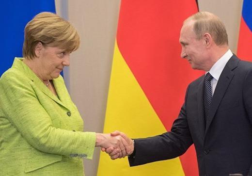 О санкциях, Путине и Меркель