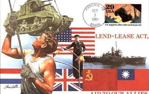 Как Американцы  Дидам помогали  или коротко о  Ленд - лизе