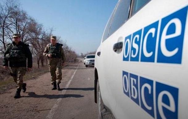 ОБСЕ ограничила доступ к девяти пунктам пропуска на Донбассе