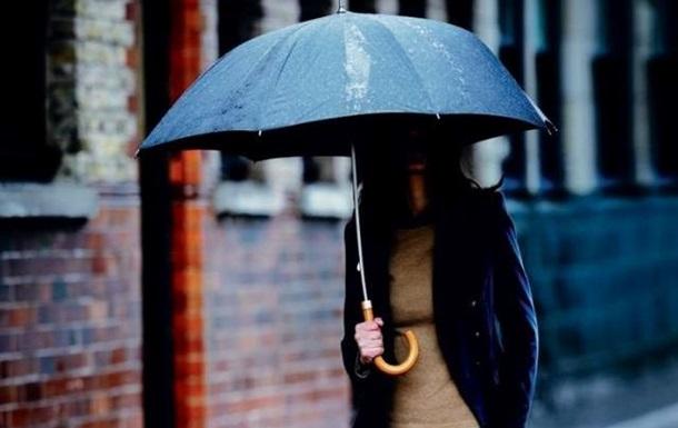 На захід України йдуть дощі з градом
