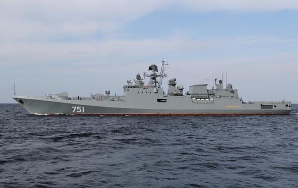 Новітній фрегат Росії з явився в Середземномор ї