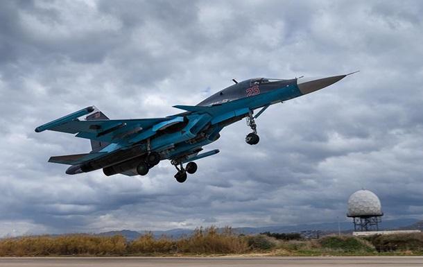 Росія припинила застосування авіації в Сирії