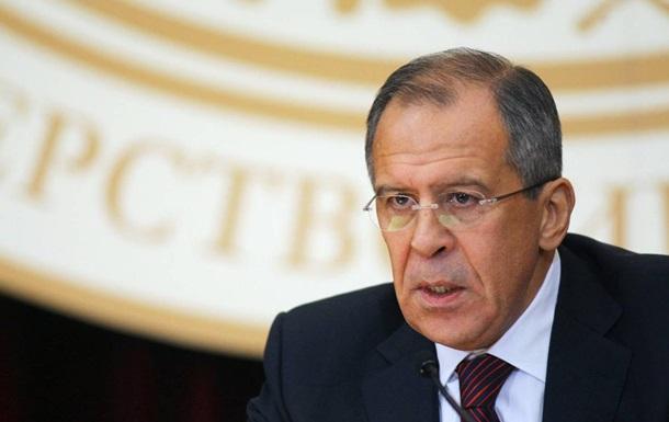 Лавров: Не будемо втручатися в суперечки про Росію в ЄС