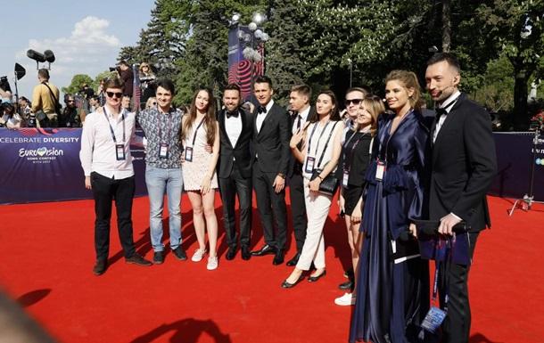 Євробачення-2017: фото з червоної доріжки