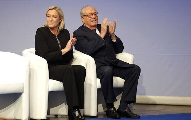 Батько Ле Пен назвав винного у поразці дочки на виборах