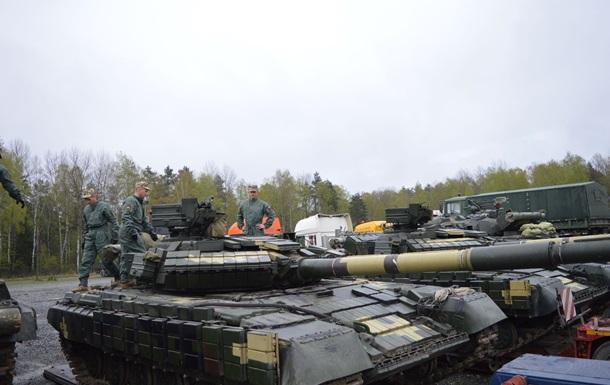 З явилося відео з танками ЗСУ для біатлону НАТО