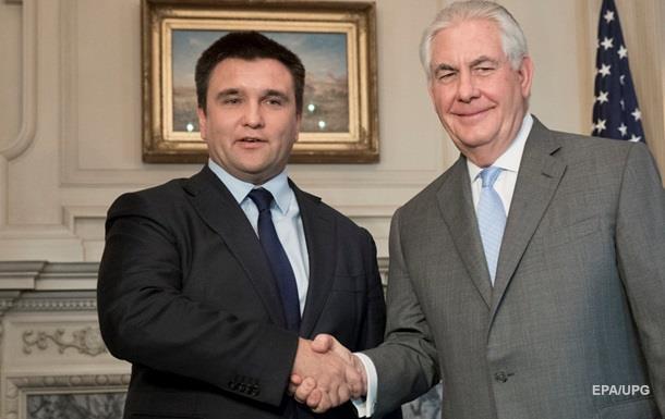 Клімкін: Тіллерсон знає про агресію РФ в Україні