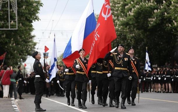 У Криму провели три військових паради