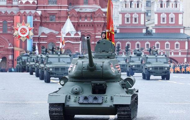 Парад у Москві став лідером за запитами в Україні