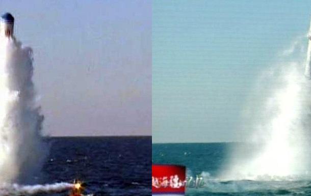 Китай випробував ракети нового типу