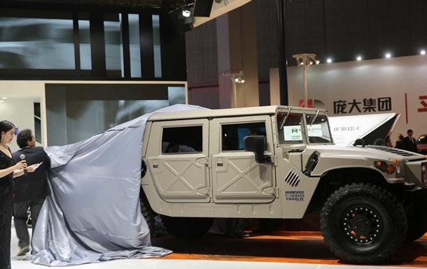 В США будут снова производить гражданский Hummer H1