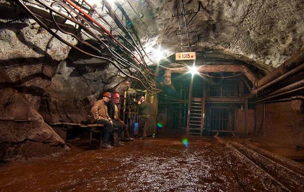У Кривому Розі 440 шахтарів протестували під землею через зарплату