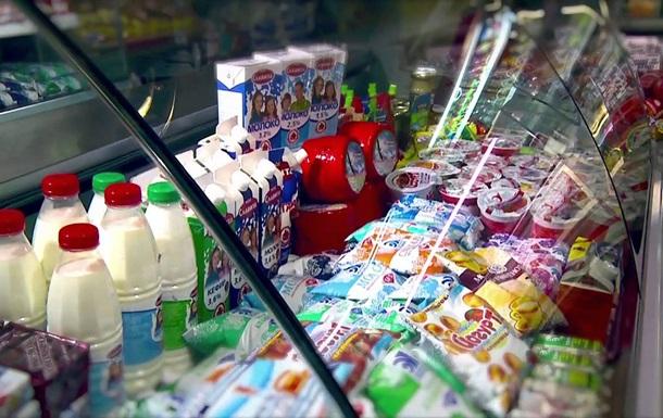Экспорт  молочки  из РФ в Украину вырос на 50%