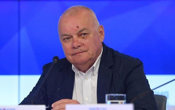 Російський ведучий Кисельов розбив у Криму обличчя