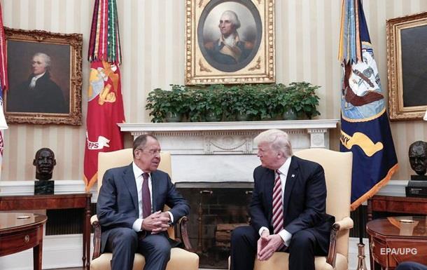 СМИ о встрече Лаврова и Трампа: США злы на Россию