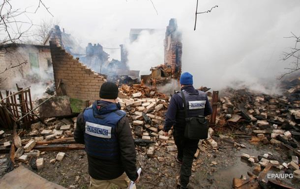 ОБСЄ: На Донбасі за тиждень постраждали 20 осіб