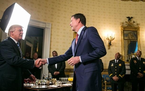 Трамп предостерег уволенного главу ФБР от утечек в прессу