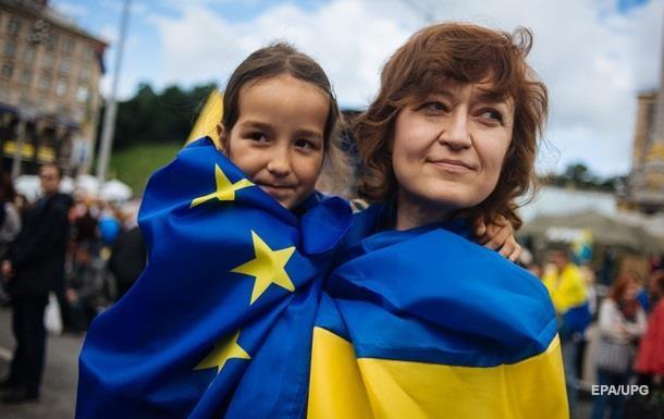 Опитування: Майже 50% українців за вступ до ЄС