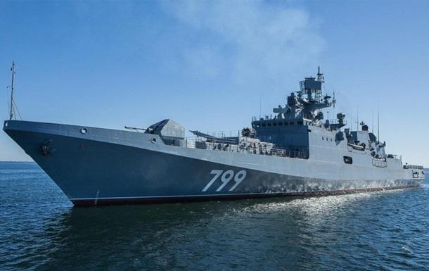 Росія перекине в Чорне море фрегат і субмарини