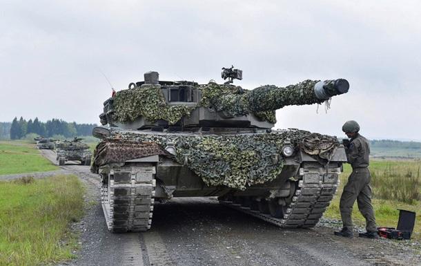 Украинцы стали пятыми на танковом биатлоне НАТО