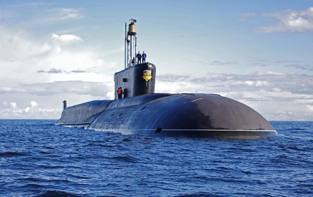 Російський підводний човен увійшов у Середземне море