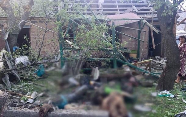 Поліція показала фото обстріляної Авдіївки