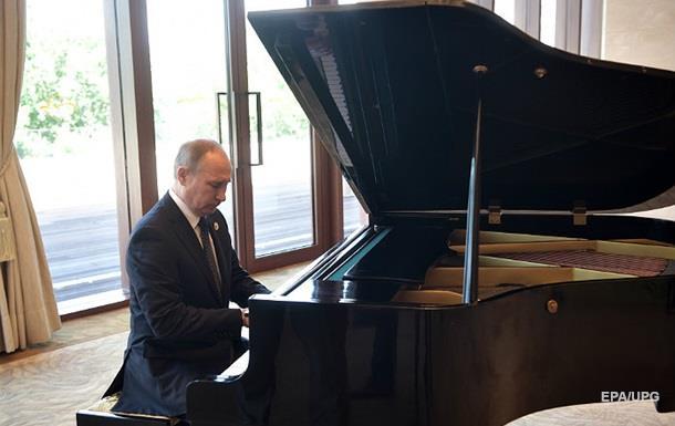 Путин сыграл на рояле в Китае