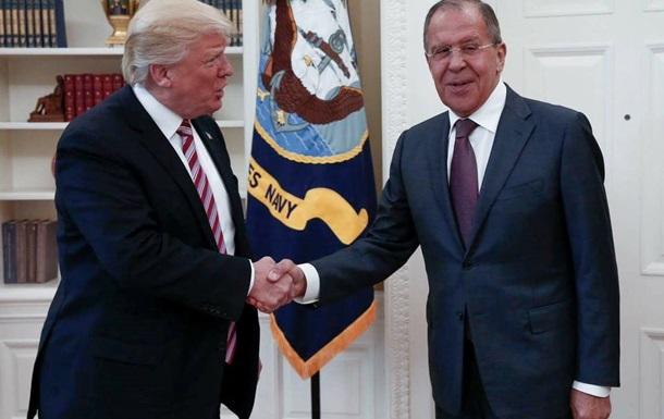 Лавров: Трамп налаштований на хороші відносини з РФ