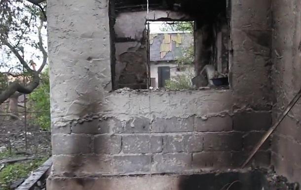 Військові показали на відео руїни у Водяному