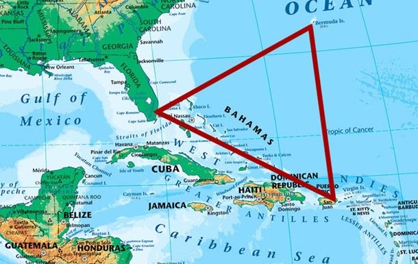 В районі Бермудського трикутника зник літак