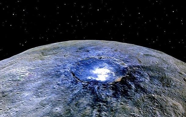 NASA показало загадкову Цереру у променях Сонця
