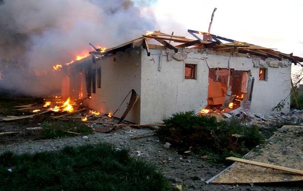 Штаб показав наслідки обстрілів Широкиного і Бердянського