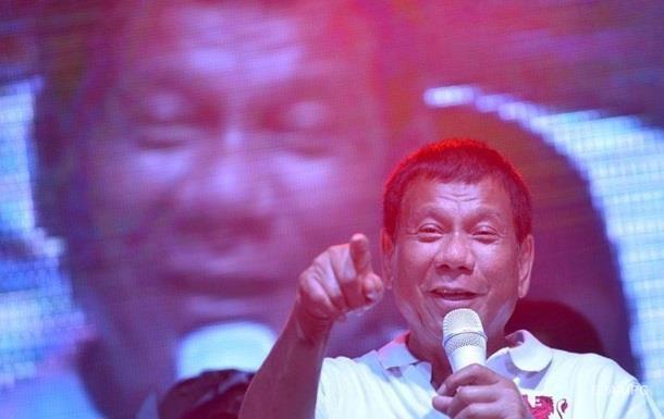 До Путіна летить скандальний президент Філіппін