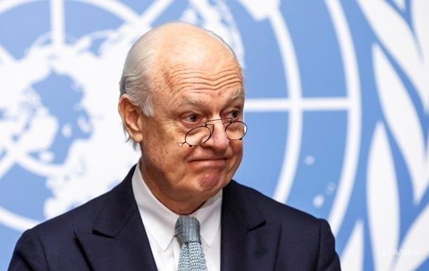 ООН: Переговори щодо Сирії в Женеві пройшли безрезультатно