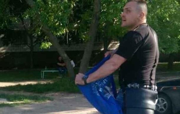 В Одеській області роздягли чоловіка у футболці з Путіним