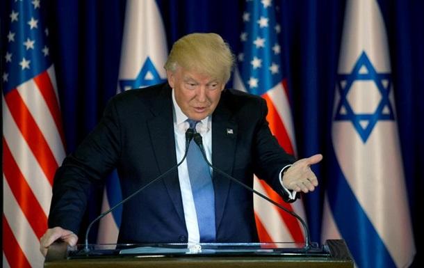 Трамп заперечує обговорення Ізраїлю з Лавровим