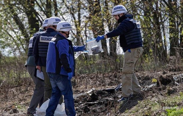 У ДНР не пустили патруль ОБСЄ на склад зі зброєю