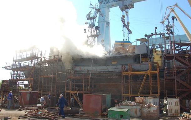 Пожежу на судні ВМС в Миколаєві ліквідовано