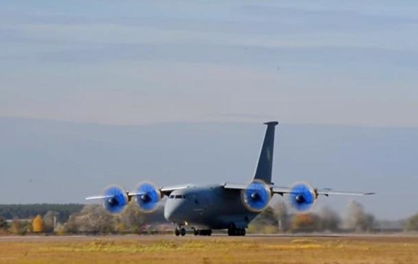 Антонов показав політ Ан-70 нового типу