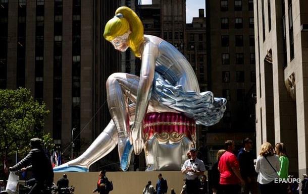 Українська балерина в Нью-Йорку. Спір про статую