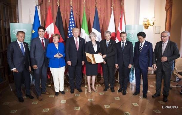 Країни G7 домовилися про боротьбу з тероризмом